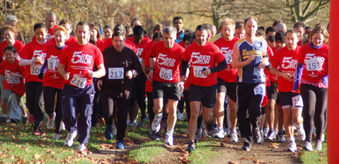 RedRun for World AIDS Day, organised by Positive East