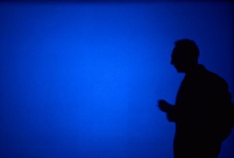 "Derek Jarman's ""Blue"""