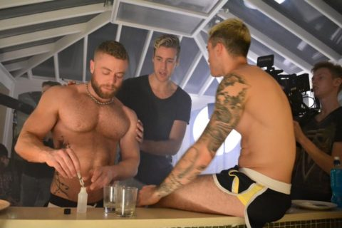 "G O'Clock – a short film, highlighting the risks of overdosing at a Chillout or Chemsex party using ""G"""