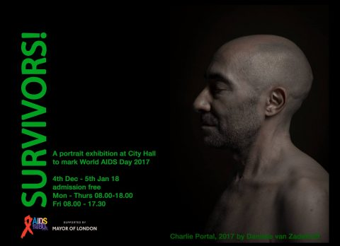 Survivors! A portrait exhibition @City Hall